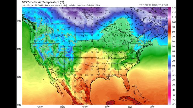 Tuesday AM Blog:  The deep chill, next couple of days.  But big improvements