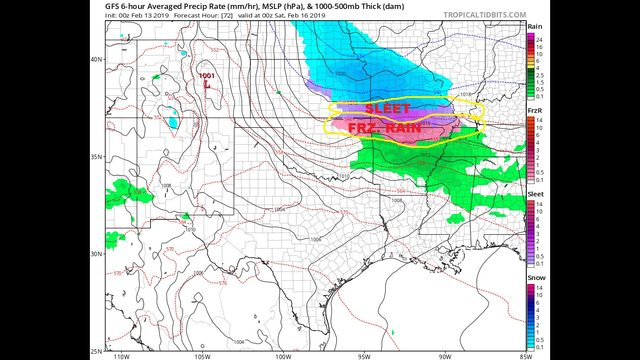 Wednesday AM Blog:  Warming up, but a wild ride over the week.