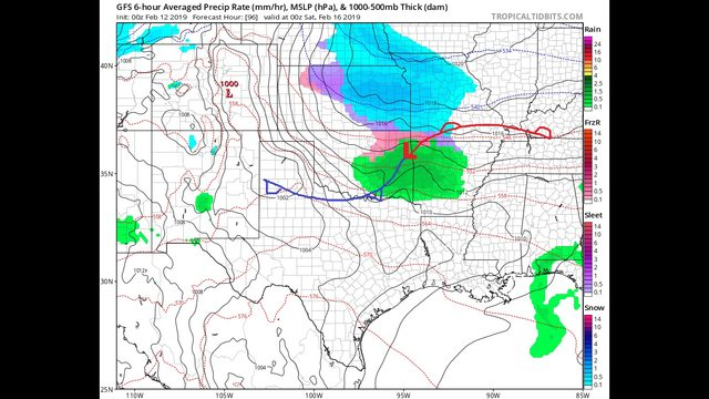 Tuesday AM Blog:  Warming up, but a very active next two weeks.  Long range HP forecast