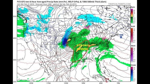 Thursday AM Blog:  Weekend storm system and long range forecast