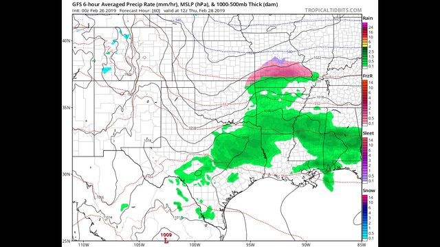 Tuesday AM Blog:  Crazy temperatures this week with a few storms systems