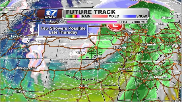 Late Sunday PM March 10th – Rain chances not too far away