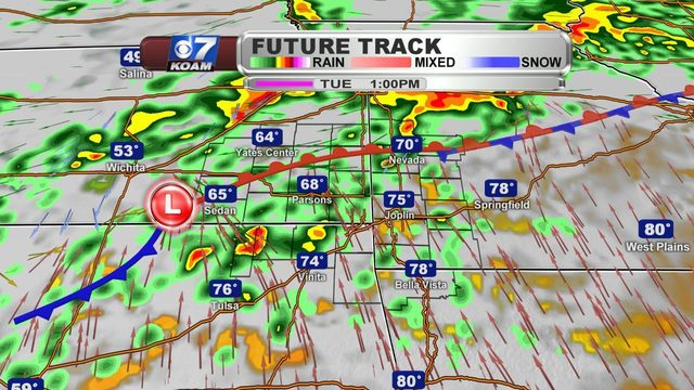 Monday Night Blog:  Severe threat moves in!