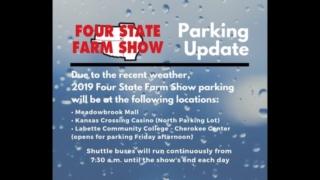 Four State Farm Show now held in May, rain causes parking changes