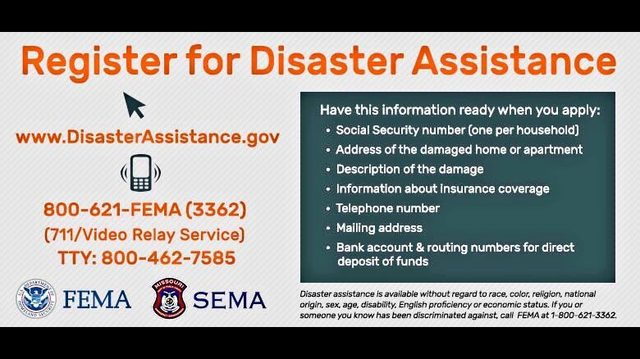 Jasper County residents can now apply for FEMA assistance