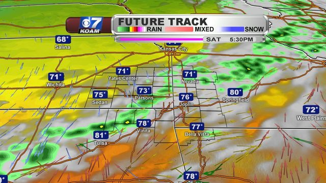 Friday AM Blog:  More showers and great temperatures