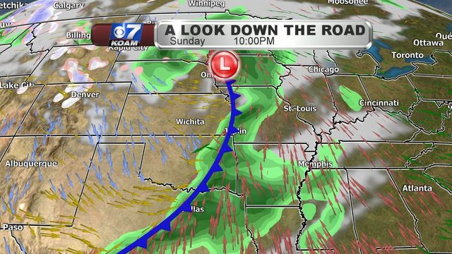 Wednesday Night/Thursday AM Blog:  Warming up, but more strong storm systems