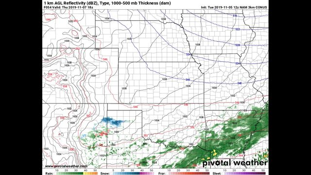 Tuesday Afternoon November 5th – Rain chances ready to roll back in