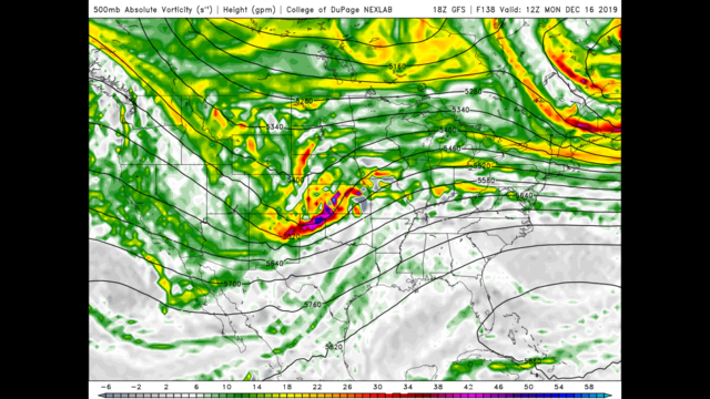 Tuesday Evening December 10th – Sunny Wednesday lined up