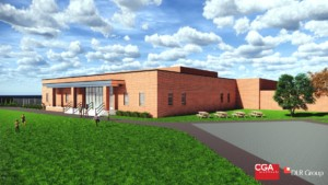Rendering of addition at Kelsey Norman Elementary