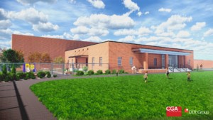 Rendering of addition onto Kelsey Normal Elementary