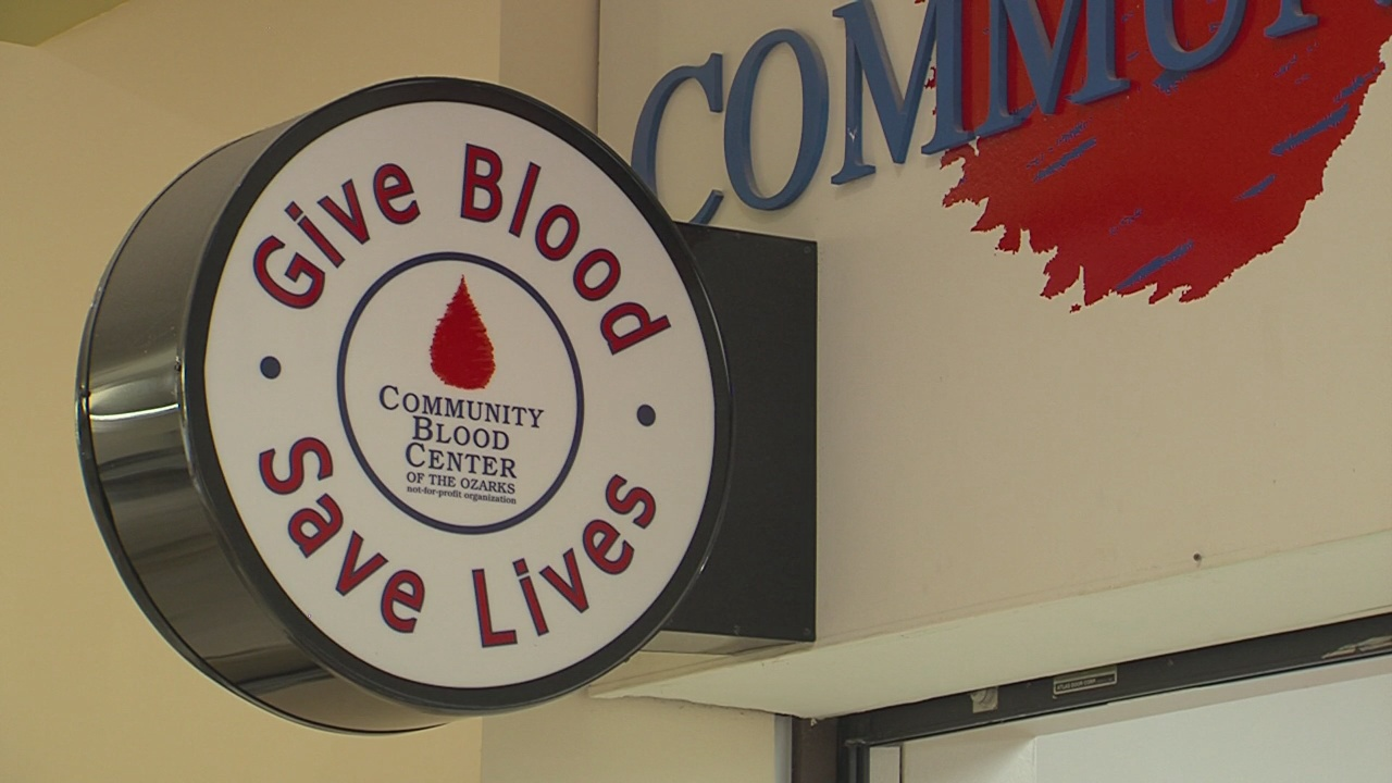 Community Blood Center Of The Ozarks Urges People To Donate
