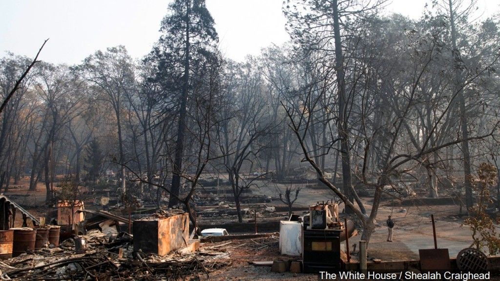 Aftermath Of The Fires In Paradise, California, November 17, 2018