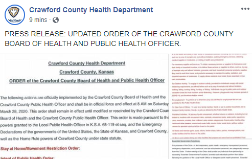 Crawford County Image Of Stay At Home Post
