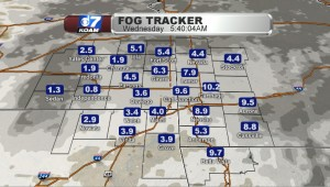 Wed Am Visibility