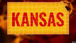 Kansas Map With Covid 19 Simulation