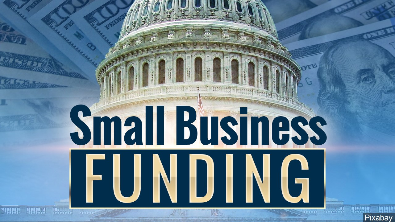 Small Business Funding Graphic