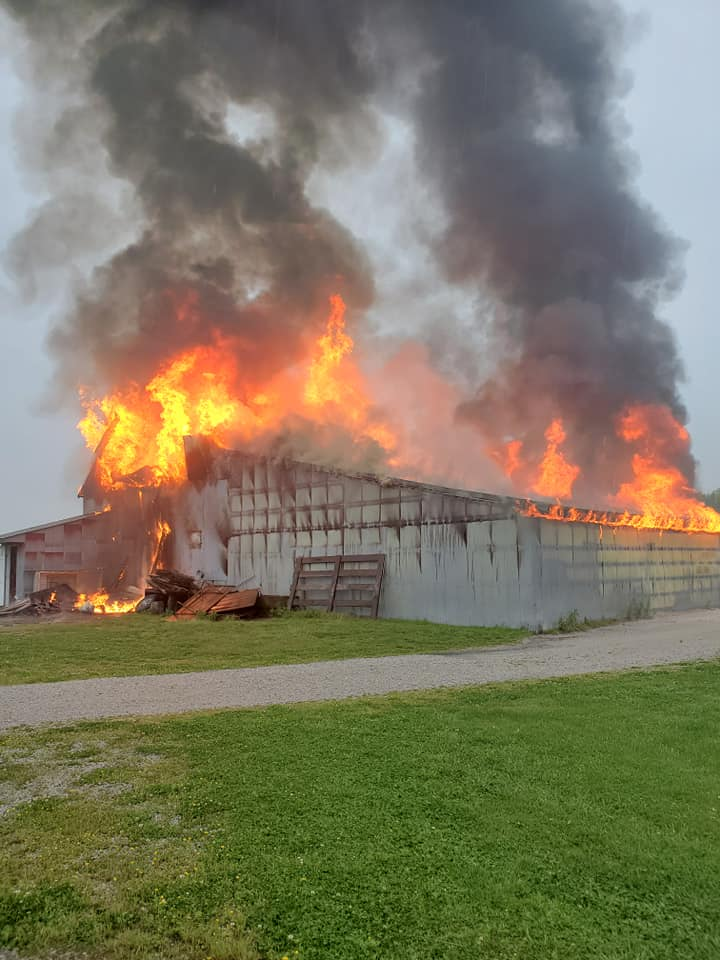 Barton County Sheriff's Office Photo Of May 15, 2020 Fire