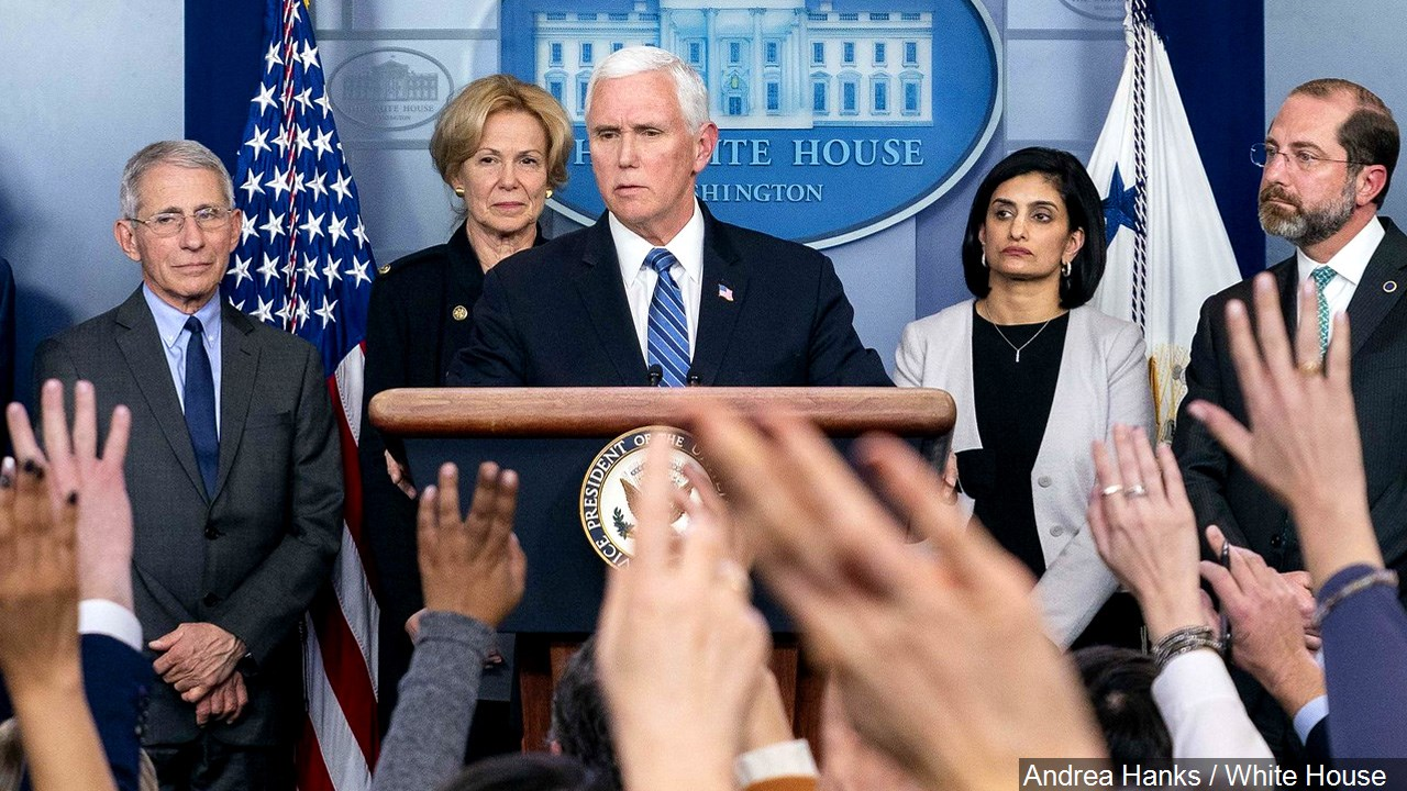 Vice President Mike Pence Holds A Press Conference With Secretary Of Health And Human Services Alex Azar And The White House Coronavirus Response Coordinator