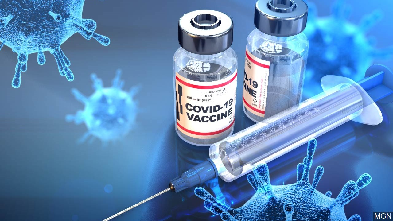 Generic Covid 19 Vaccine Graphic, Mgn Image