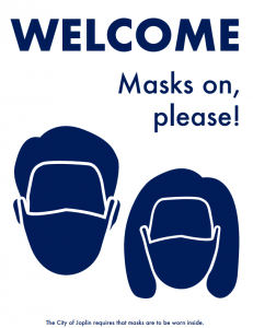 Mask Ordinance Sign, Option 1