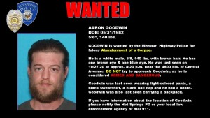 Goodman, Aaron Wanted Poster