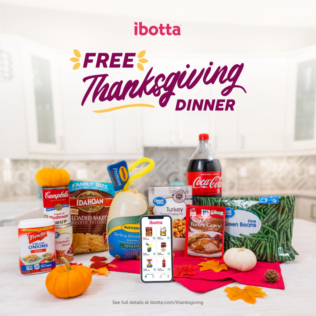 Ibotta Freethanksgivingdinner Products