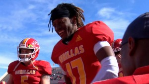 Pitt State finishes fall schedule with 42-28 win over West Texas A&M.