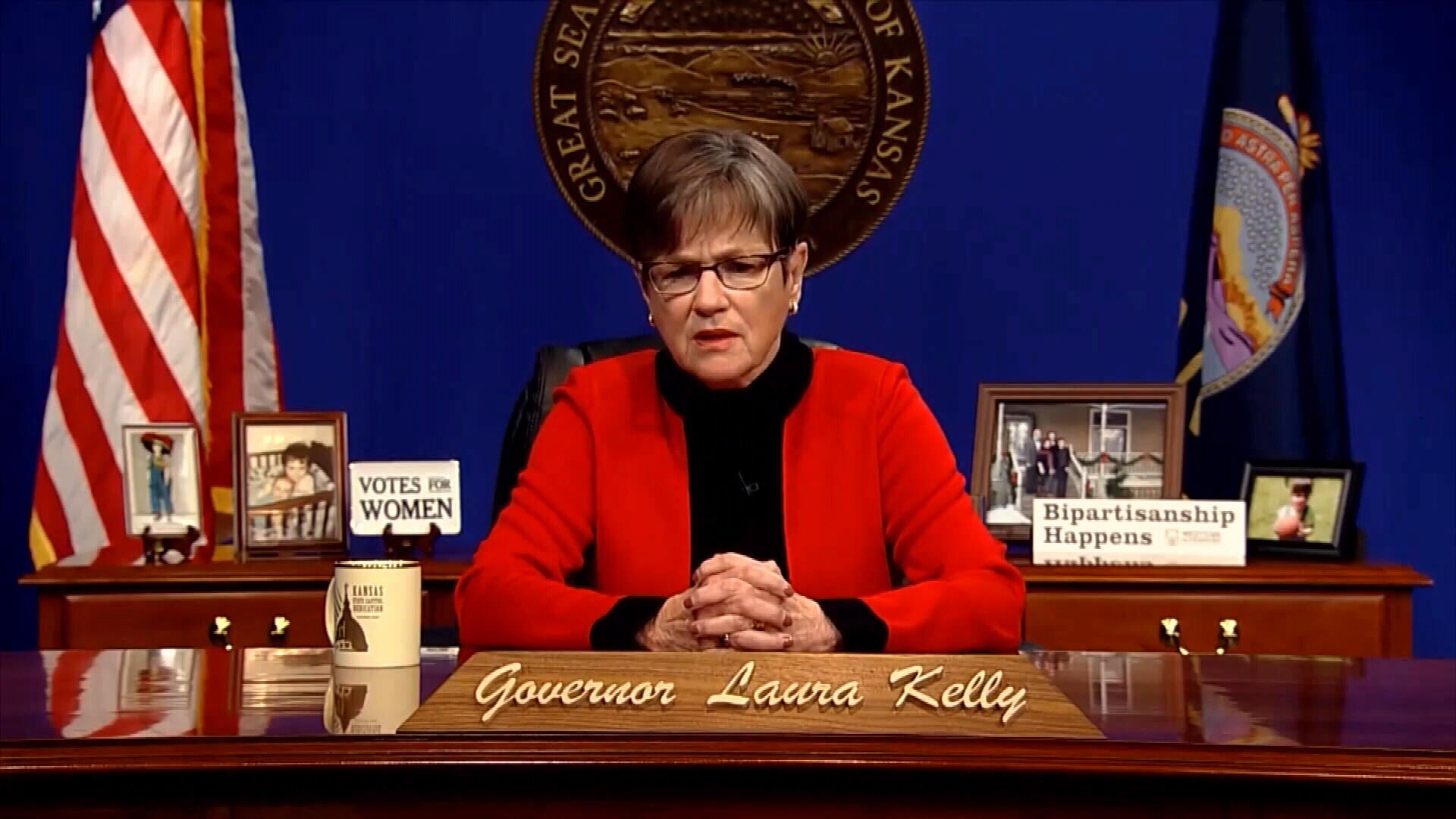 Gov. Laura Kelly gives state of the state address
