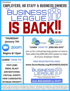 Business League is Back MO Job Center