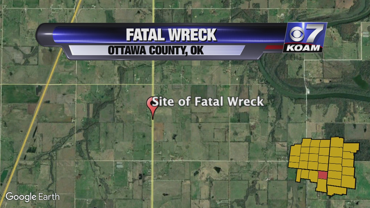 Fairland Woman Dies In Two Vehicle Wreck