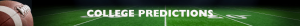 College Predictions Banner