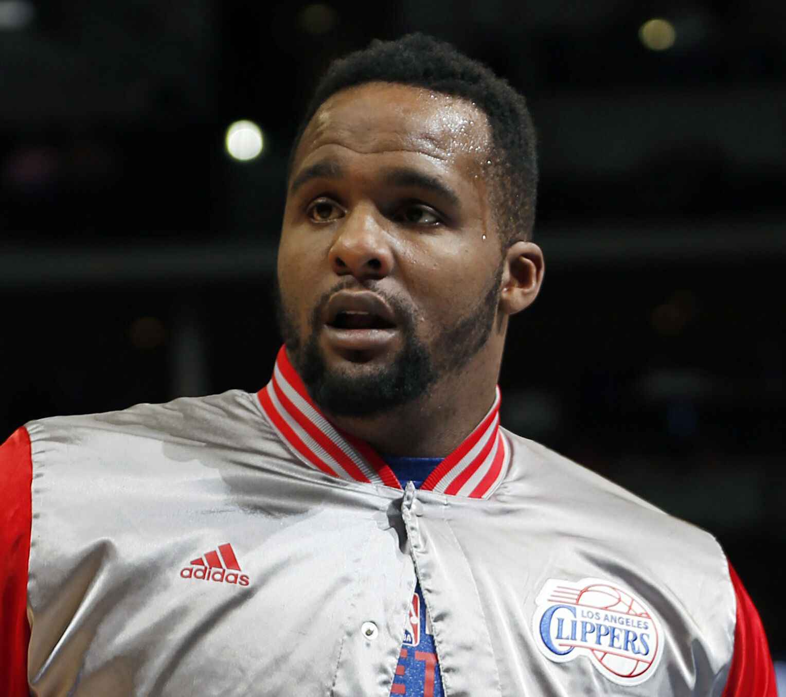 <p>Glen Davis, shown in2015 when playing for the Los Angeles Clippers, is amongformer players who have been charged with defrauding the NBA's health and welfare benefit plan.</p>
